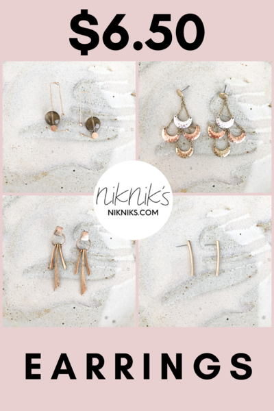 affordable everyday earrings