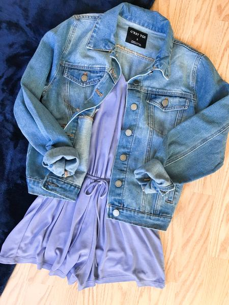 Casual Denim Jacket Outfits